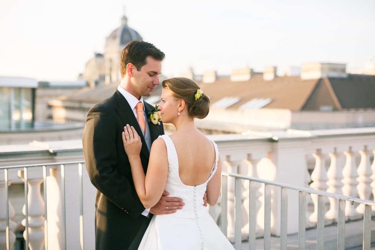 Hochzeitsfotos in Wien - Piaristenkirche, Haus der Ingenieure