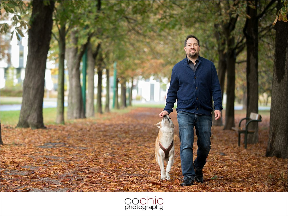 Fotoshooting Mit Hund Im Prater Herbst Cochic Photography